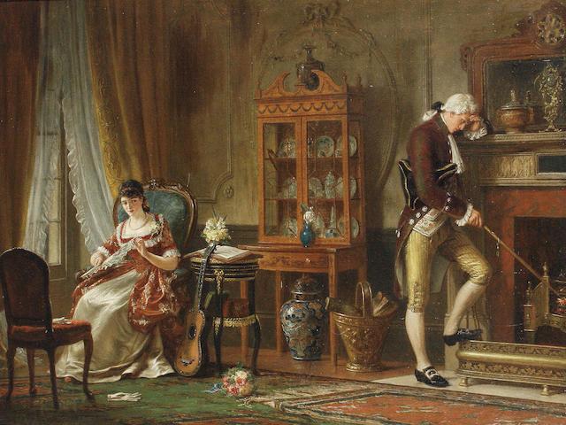 William Bromley III (British, fl.1835-1888) Rejection