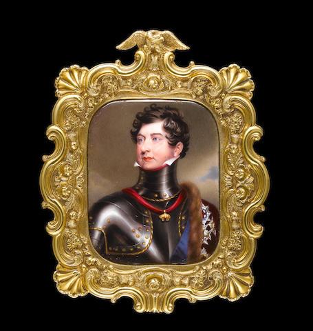William Essex (British, 1784-1869) George IV (1762-1830), King of Great Britain (1820-1830), wearing