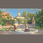 Livadia Ukraina A view of a Russian summer estate