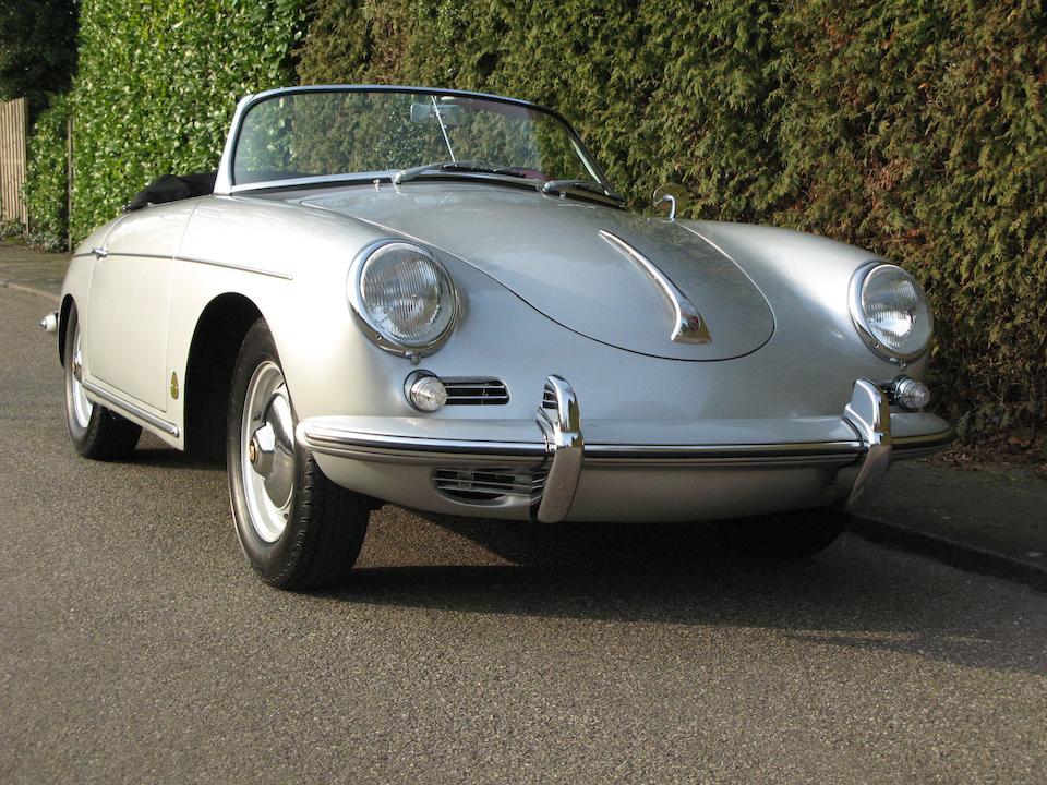 1960 Porsche 356 B Roadster 1600  Chassis no. 87842 Engine no. 602592