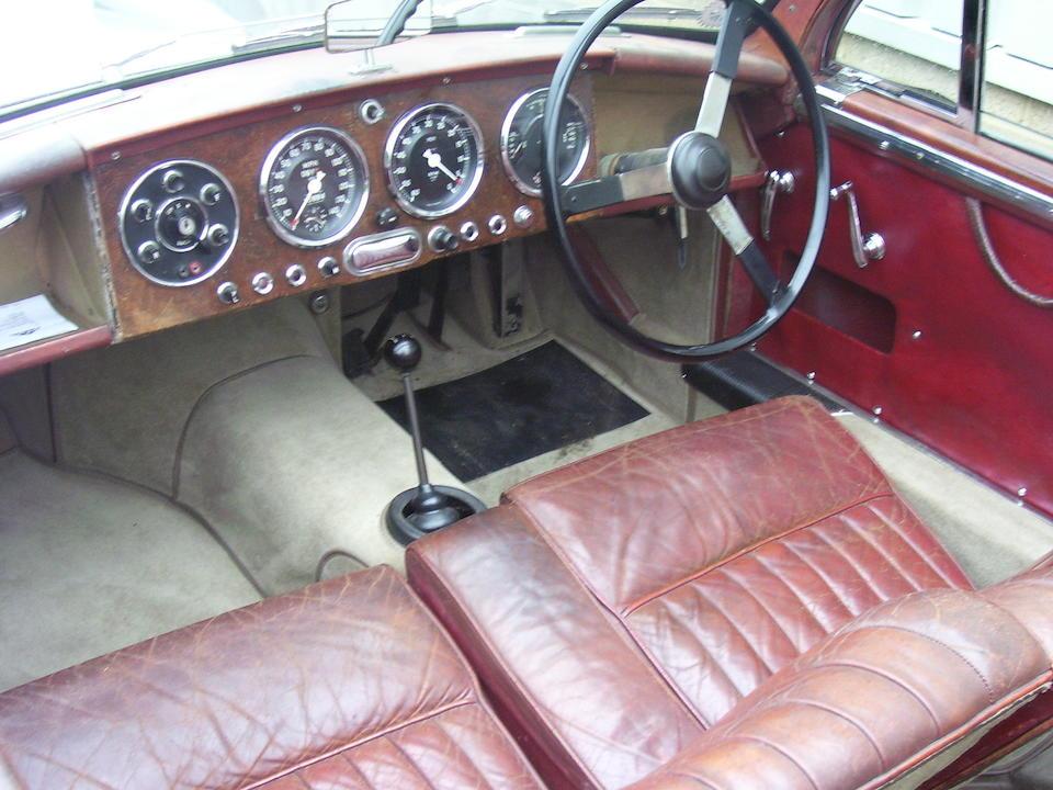 1955 Aston Martin DB2/4 Mark I 3-litre Drophead Coupé  Chassis no. LML 1042 Engine no. VB6J/609