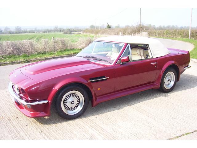 1989 Aston Martin V8 Vantage Volante,