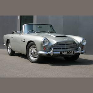 1963 Aston Martin DB4 Convertible,