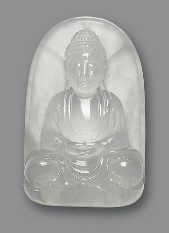 A jadeite plaque