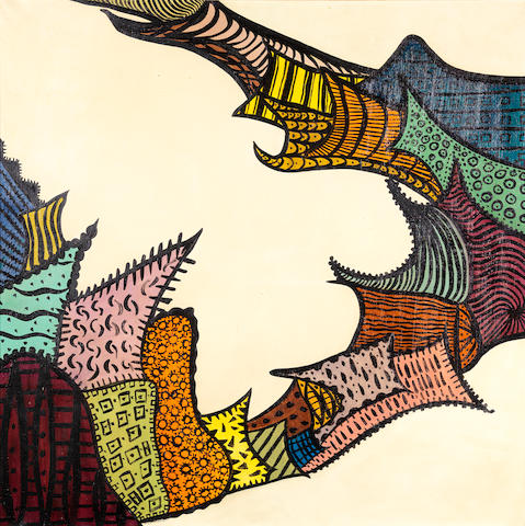 Huguette Caland (Lebanon, born 1931) Untitled,
