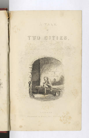 DICKENS (CHARLES) The Tale of Two Cities, FIRST EDITION, FIRST ISSUE