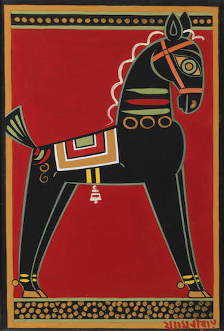 Jamini Roy (India, 1887-1972) Untitled,
