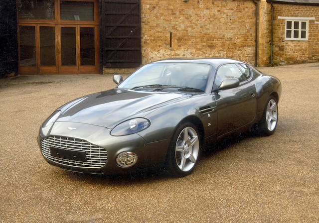 One owner, 11,000 miles from new,2004 Aston Martin DB7 Zagato Coupé  Chassis no. SCFAE12373K700076 Engine no. AM2A/00331