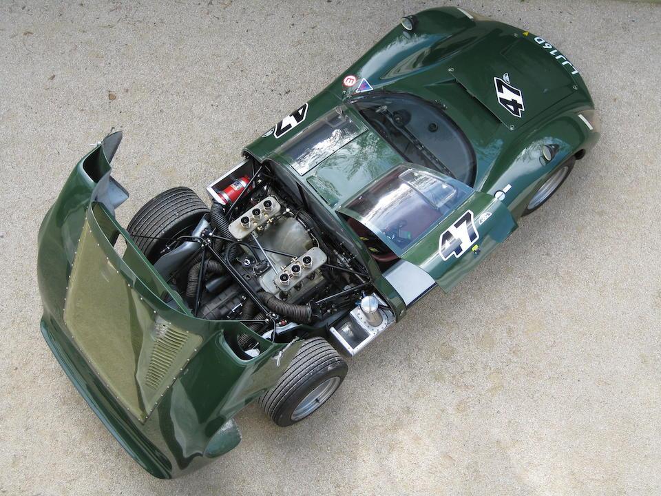 The ex-Mike de Udy/Peter de Klerk/Colin Davis,1966 Porsche 906 Two seat Endurance Racing Coupé  Chassis no. 906 101 Engine no. 906 101