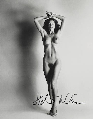 Helmut Newton (German, 1920-2004) 'Big Nude III, Paris', 1993