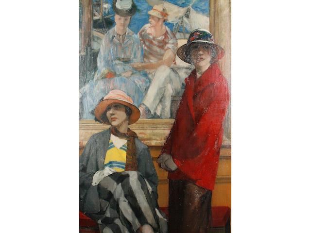 Georges Antoine van Zevenberghen (Belgian, 1877-1968) 'Le Manet'