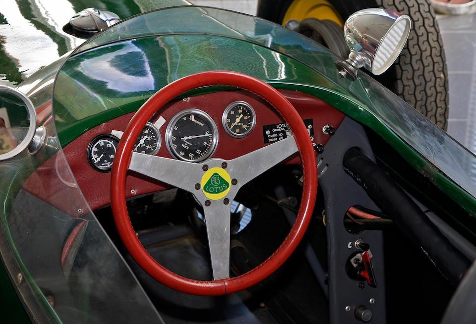 1960 Lotus Type 18 Formula Junior Monoposto  Chassis no. 703