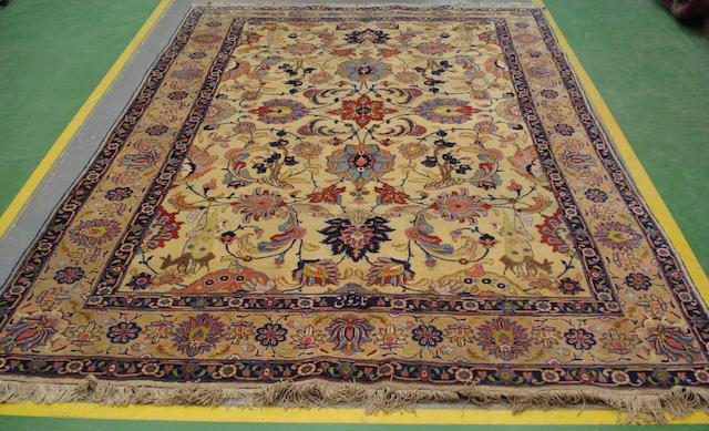 A Tabriz carpet North West Persia, 302cm x 205cm