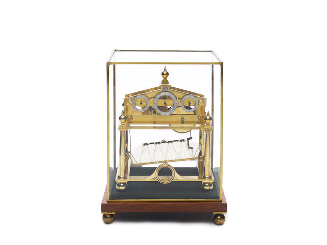 A late 20th century Congreve rolling ball clock G.H.Bell Fecit, Winchester