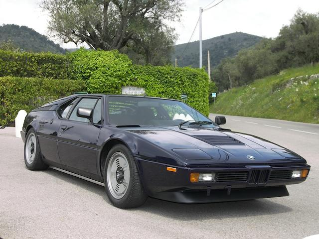 Only 18,000 kilometres from new,1980 BMW M1 Coupé  Chassis no. WBS59910004301371