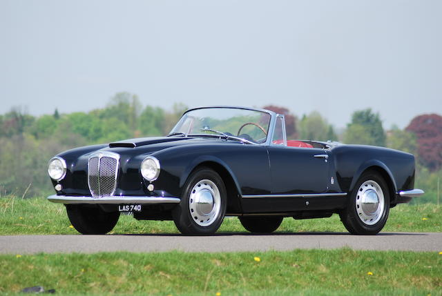 1957 Lancia Aurelia B24S Convertible  Chassis no. B24S 1416 Engine no. 1534