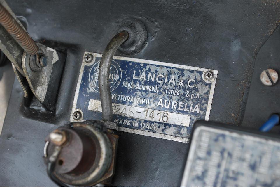 1957 Lancia Aurelia B24S Convertible  Chassis no. B24S 1416 Engine no. 1534
