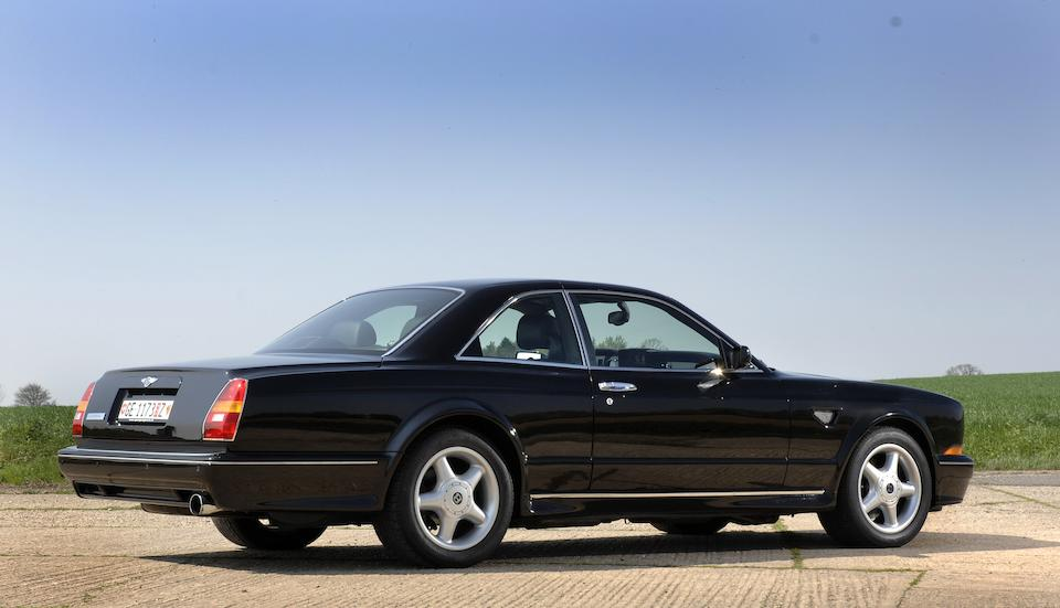 11,500 miles from new,2001 Bentley Continental T Short Chassis Coupe  Chassis no. 67503