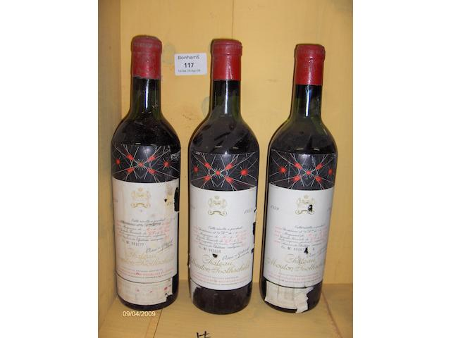 Chateau Mouton Rothschild 1959 (6)