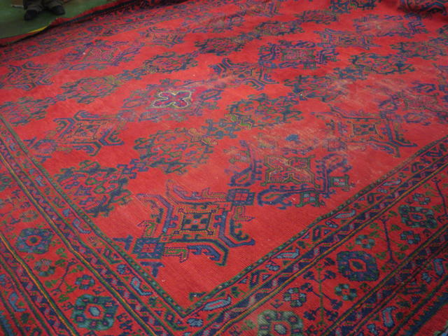 An Ushak carpet  West Anatolia, 478cm x 388cm