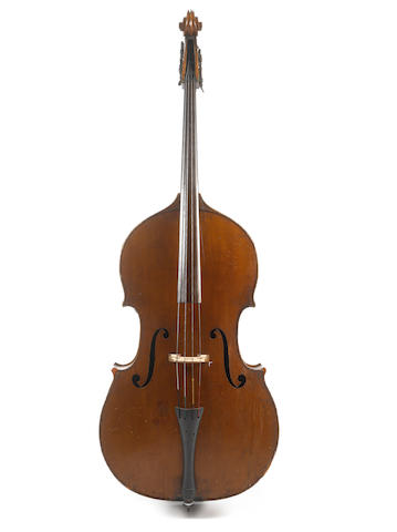 A Double bass of the French School circa 1800