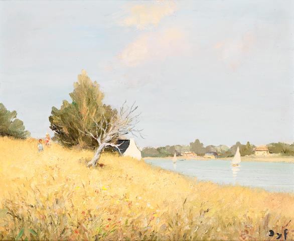 Marcel Dyf (French, 1899-1985) Tumiac, Bretagne