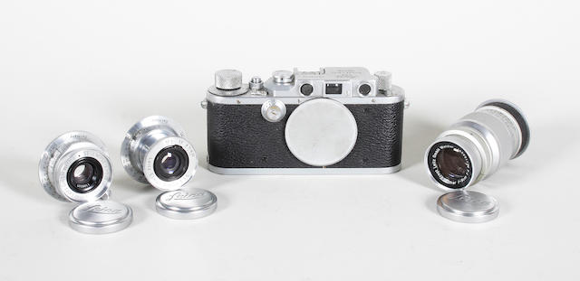 Leica camera outfit qty