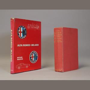 Two Alfa Romeo books,
