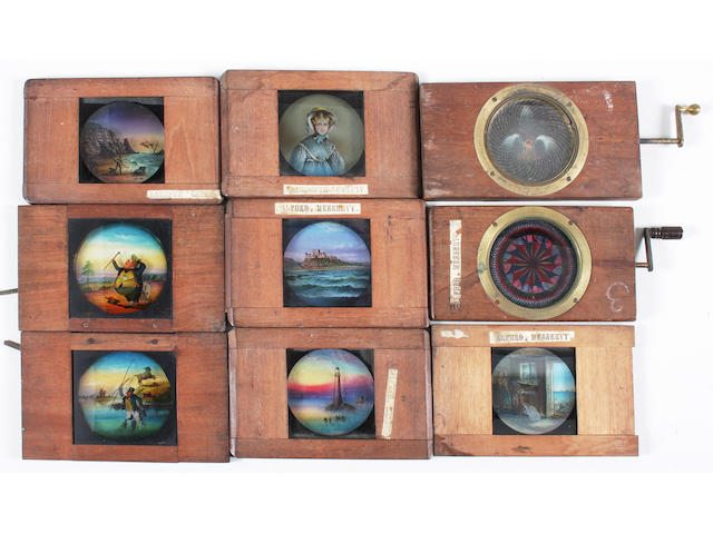 Magic lanterns and slides 39