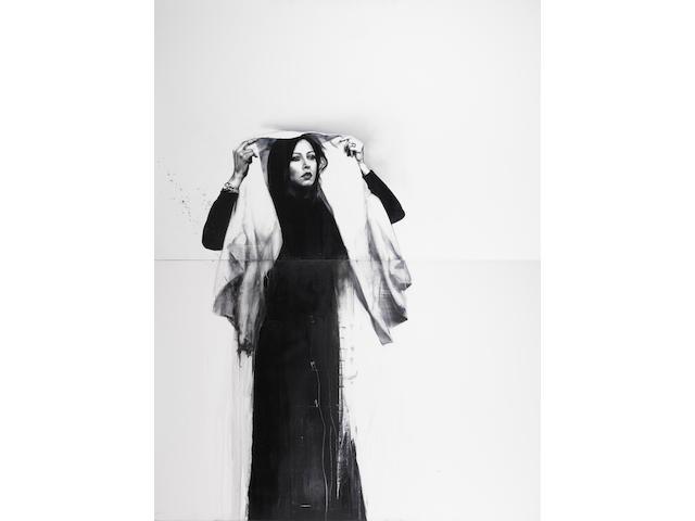 Afshin Pirhashemi (Iran, born 1974) Untitled, each 100 x 150 cm.; entire work 200 x 150 cm.