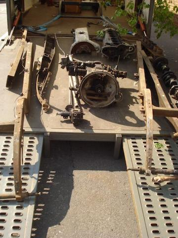 A kit of parts for a Rolls-Royce 25/30HP,