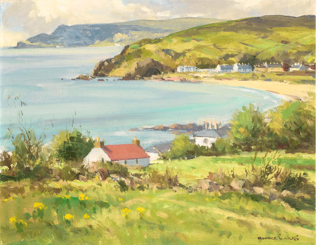 Maurice Canning Wilks R.U.A., A.R.H.A. (Irish, 1910-1984) Morning Light, Cushendun, Co. Antrim 40.5