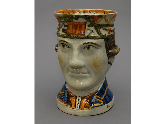 Admiral Rodney character jug