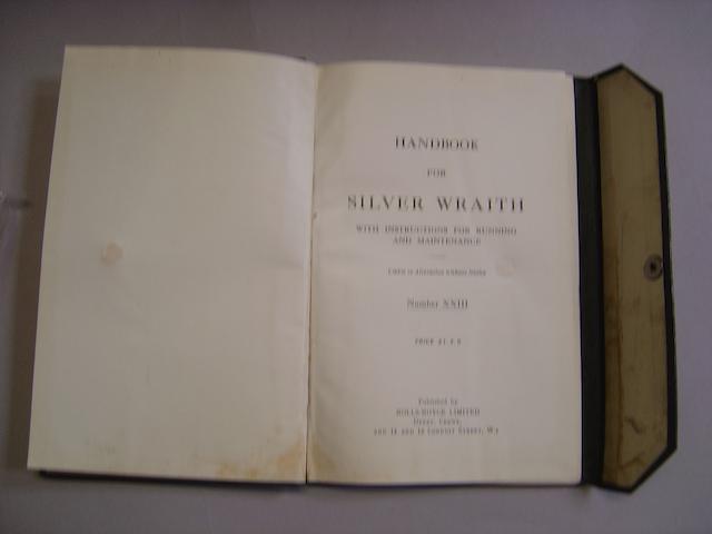 A Rolls-Royce Silver Wraith Handbook,