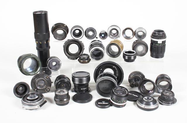 Camera lenses 30