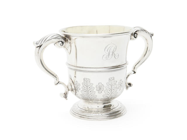 A George II cup by George Bulman, Newcastle 1737