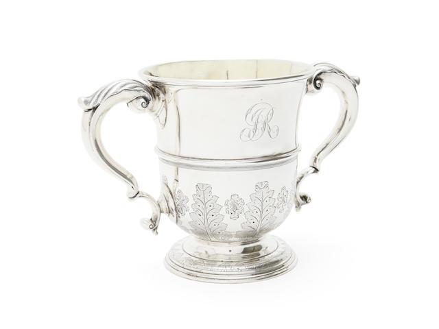 A George II cup by George Bulman, Newcastle 1737