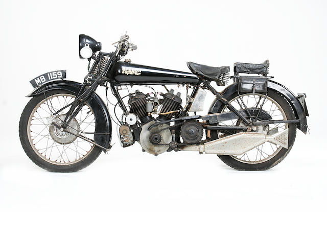 1922 Brough Superior 981cc MkI Frame no. 469 Engine no. KTC/M/30648
