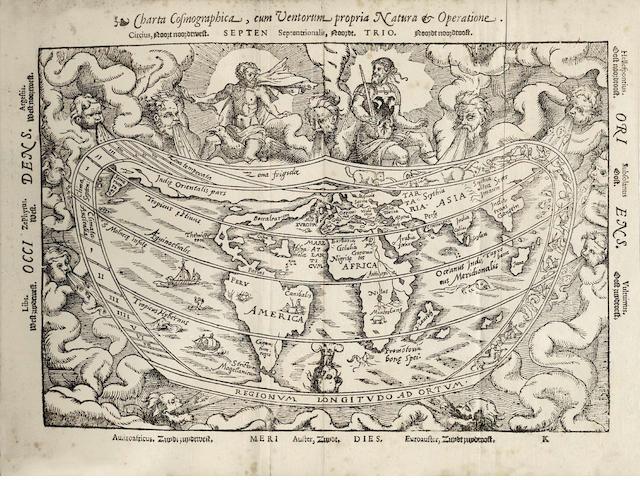 APIANUS (PETRUS) and GEMMA FRISIUS Cosmographia, sive descriptio universi orbis