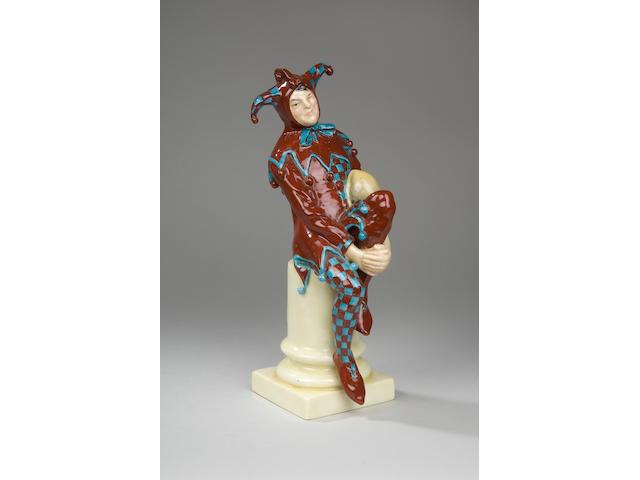 A Royal Doulton Jester HN45B by C.J. Noke early 20th Century,