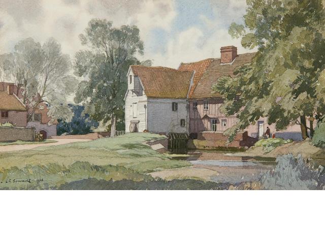 Leonard Russell Squirrell, R.W.S., R.I., R.E. (British, 1893-1979) Ashe Abbey, Campsea Ashe