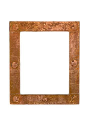 British A copper arts and crafts Wall Mirror, circa 1900