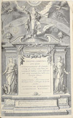 LUBIENECKI (STANISLAW) Theatrum cometicum, 3 parts in one vol.