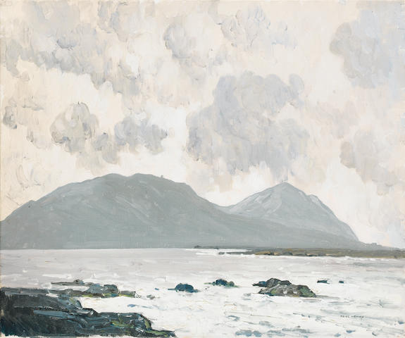 Paul Henry R.H.A. (1876-1958) The Great Blasket Islands 38 x 46 cm. (15 x 18 in.)
