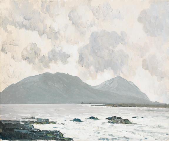Paul Henry R.H.A. (1876-1958) The Great Blasket Islands 38 x 46 cm. (15 x 18 in.)