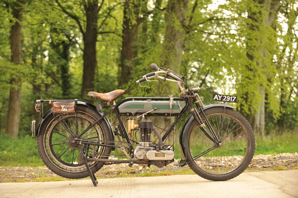 1914 Triumph 4hp 550cc Model H  Frame no. 252076 Engine no. 32775