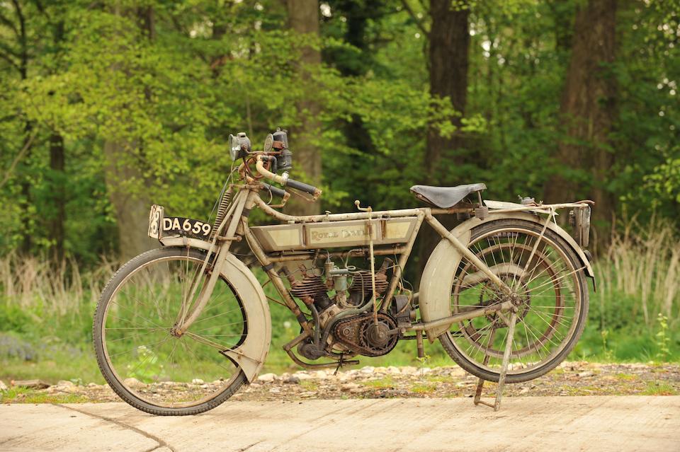 1911 Royal Enfield V-twin 2¾hp Model 160  Frame no. 1198 Engine no. 2C IV 27345 (see text)