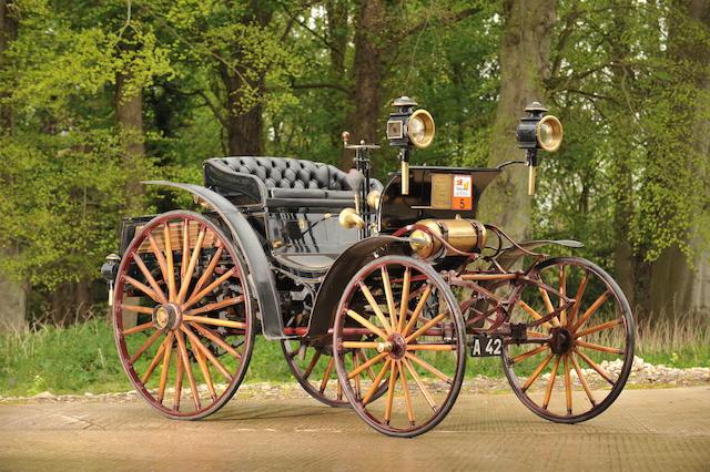 1896 Benz 5hp Victoria