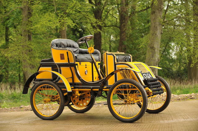 1901 Pick 4 hp Two-seater Voiturette  Engine no. 73