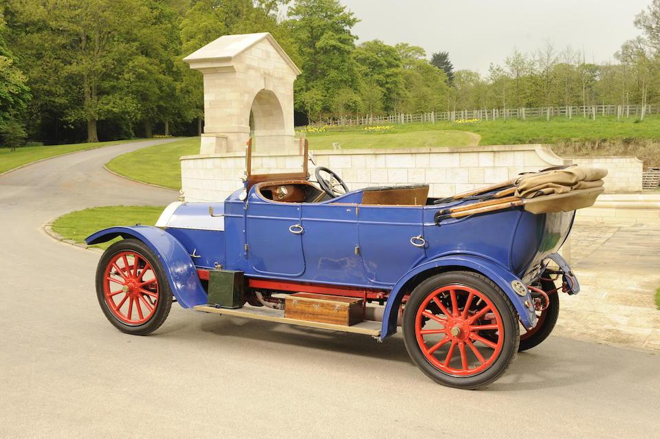 1910 Gladiator 12/14hp Type P Series 51 Tourer  Chassis no. 1454 Engine no. 1454P